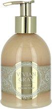 """Vivian Gray Romance Vanilla & Patchouli Luxury Cream Soap - Течен сапун в диспенсър с аромат на ванилия и пачули от серията """"Romance Vanilla & Patchouli"""" -"""