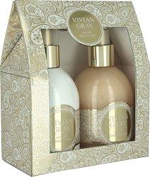 """Vivian Gray Romance Vanilla & Patchouli Luxury Beauty Set - Подаръчен комплект с козметика за ръце от серията """"Romance Vanilla & Patchouli"""" - крем"""
