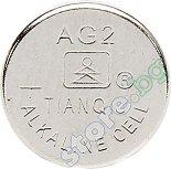 Бутонна батерия AG2 / 396A - Алкална 1.55V - 10 броя -