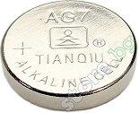 Бутонна батерия AG7 / 395A - Алкална 1.55V - 10 броя -