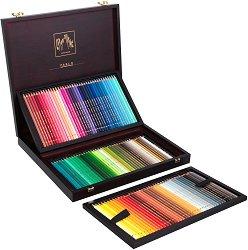 Цветни моливи в дървена кутия - Pablo