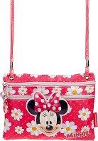 """Чанта за рамо - Мини Маус - От серията """"Мики Маус"""" - творчески комплект"""