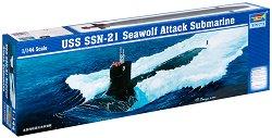 Подводница - USS SSN -21 Seawolf - Сглобяем модел -