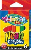 Пастели - Neon - Комплект от 6 цвята