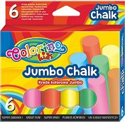 Цветни тебешири - Jumbo