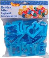Формички за пластилин - Латински букви - Комплект от 24 броя