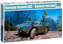 Военен автомобил - Fennek LGS German Version - Сглобяем модел -