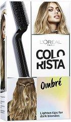 """L'Oreal Colorista Effect Ombre - Комплект за изсветляване на косата за омбре ефект от серията """"Colorista"""" - лосион"""