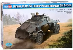 Военен автомобил - SD.Kfz.221 Leichter Panzerspahwagen - 1st series -