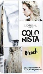 """L'Oreal Colorista Effect Bleach - Комплект за обезцветяване на косата от серията """"Colorista"""" - шампоан"""