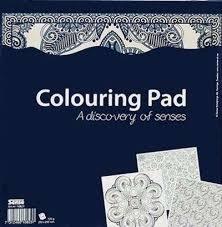 Книга за оцветяване: А discovery of senses -