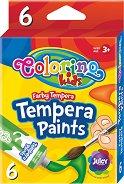 Темперни бои - Комплект от 6 или 12 цвята x 12 ml - продукт