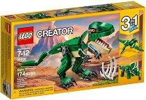 """Могъщите динозаври - 3 в 1 - Детски конструктор от серията """"LEGO Creator Creatures"""" - играчка"""
