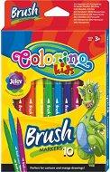 Островърхи флумастери - Комплект от 10 цвята