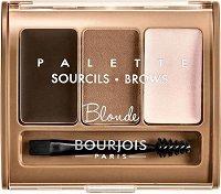 Bourjois Brow Palette - Палитра сенки за вежди - продукт
