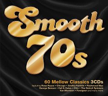 Smooth 70s - 60 Mellow Classics - 3 CDs -