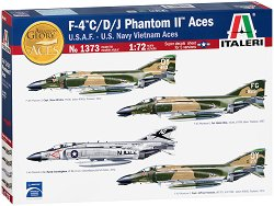 Разузнавателен изтребител - F-4 C/D/J Phantom II Aces - Сглобяем авиомодел -