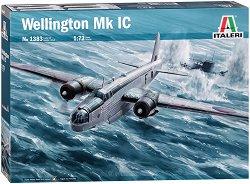 Бомбардировач - Wellington Mk IC - Сглобяем авиомодел -