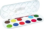 Акварелни бои - Комплект от 12 цвята -