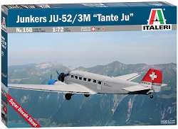 "Транспортен самолет - Junkers JU-52 / 3M ""Tante Ju"" - Сглобяем авиомодел -"