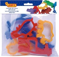 Формички за пластилин - Диви животни - Комплект от 6 броя