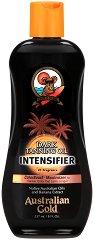 Australian Gold Dark Tanning Oil Intensifier - Олио ускорител за интензивен тен - сапун