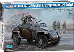 Военен автомобил - SD.Kfz.221 Leichter Panzerspahwagen - 3rd series -