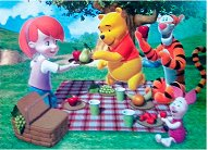 Мечо Пух с приятели на пикник - пъзел