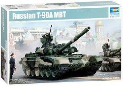 Руски танк - Т-90А МБТ - Сглобяем модел -