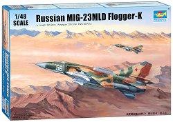 Руски изтребител - МиГ-23 МЛД Flogger-K - Сглобяем авиомодел -