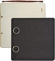 Албум за снимки - Черен - Размер 30 x 30 cm с 24 листа