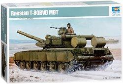 Руски танк - T-80BVD MBT - Сглобяем модел -
