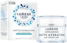 """Lumene Lahde Matte Hidration 24H Cream-Gel - Матиращ крем-гел за мазна и смесена кожа от серията """"Lahde"""" -"""