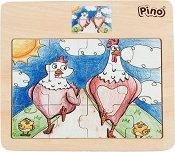 Пилета - Детски дървен пъзел -