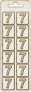 Формички от шперплат - Цифра 7
