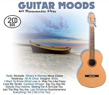 The Guitar Moods: 40 Romantic Hits - 2 CD Box - компилация