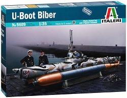 Подводница - U Boot Biber - Сглобяем модел - макет