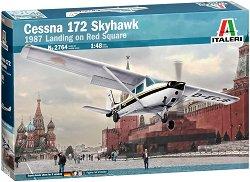 Транспортен самолет - Cessna 172 Skyhawk - Сглобяем авиомодел -