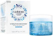 """Lumene Lahde Hydration Recovery Aerating Gel Mask - Хидратираща аеро-гел маска за лице от серията """"Lahde"""" - продукт"""