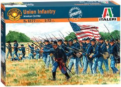 Пехотинци на Севера от Американската гражданска война - Комплект фигури -