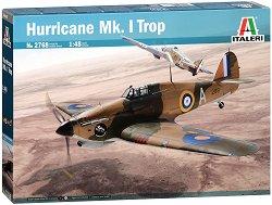 Британски изтребител - Hurricane Mk. I Trop - Сглобяем авиомодел -