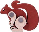 Катерица - Дървена играчка -
