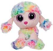 """Кученце - Rainbow - Плюшена играчка от серията """"Beanie Boos"""" - играчка"""