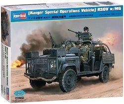 Военен автомобил - Ranger Special Operations Vehicle - Сглобяем модел -