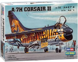 Американски изтребител - A-7H Corsair II - Сглобяем авиомодел - макет