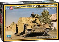 "Германски танк - SturmPanzer IV Sd. Kfz. 166 ""Brummbär"" - Сглобяем модел -"