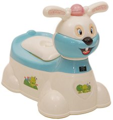 Детско гърне с капак - Bunny -