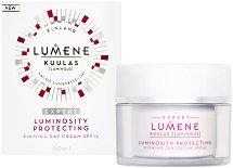 """Lumene Kuulas Luminosity Protecting Firming Day Cream - SPF15 - Защитен и стягащ дневен крем за лице от серията """"Kuulas"""" -"""