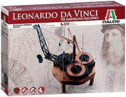 Da Vinci -  Часовник с махало - Сглобяем модел -