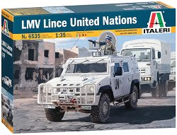 Военен автомобил - Iveco LMV Lince United Nations - Сглобяем модел -